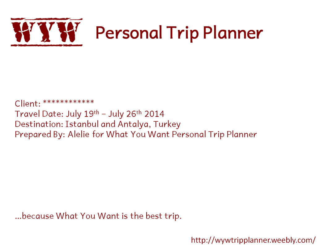 8 day trip a taste of turkey wyw personal trip planner and travel